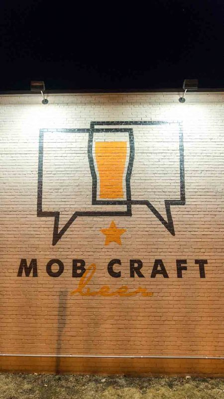 Pinterest Pin for MobCraft Brewery in Milwaukee
