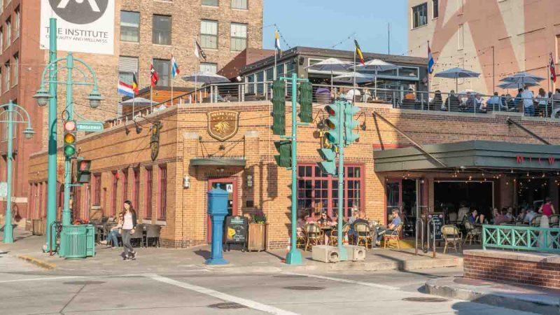 Cafe Benelux Rooftop bar Milwaukee