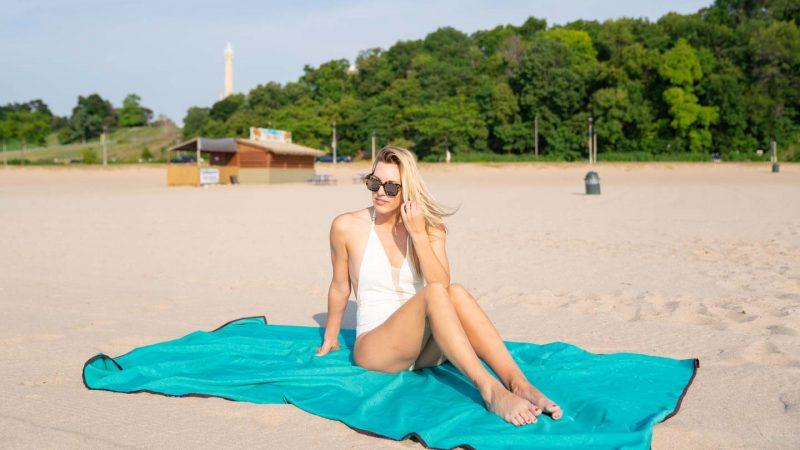 Bradford Beach in Milwaukee